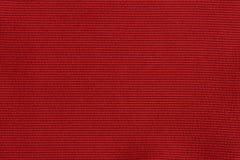 Textura tecida vermelha Fotografia de Stock Royalty Free
