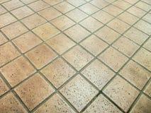 Textura tejada del pavimento Imágenes de archivo libres de regalías