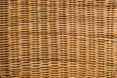 Textura tejida bastón natural de los muebles Imágenes de archivo libres de regalías