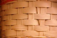 Textura tejida de la cesta Fotos de archivo libres de regalías