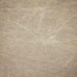 Textura tejida de la tela de la lona del marrón oscuro Imagenes de archivo