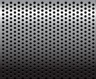 Textura/teste padrão do metal ilustração do vetor