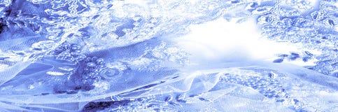 Textura, teste padrão tela do laço 3D, beadwork, laço, francês, nupcial Imagem de Stock
