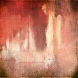 Textura textured da tela do vintage serapilheira de linho natural Imagem de Stock