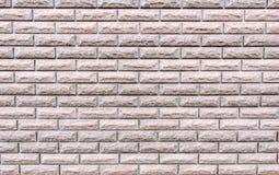 Textura texturizada de un fondo blanco ligero del extracto de la pared de ladrillo para el dise?o imágenes de archivo libres de regalías