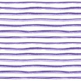 Textura tirada da listra da tinta mão sem emenda no fundo branco Fotos de Stock Royalty Free