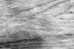 Textura tonificada preto e branco da placa de madeira Fotografia de Stock Royalty Free