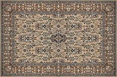 Textura tradicional adornada oriental de la alfombra Imagen de archivo