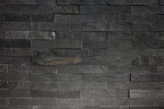 Textura trasera del fondo de la pared de piedra con la iluminación de debajo lado Fotos de archivo libres de regalías