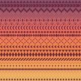 Textura tribal del vector inconsútil Textura inconsútil tribal Contexto inconsútil étnico del vintage Rayas de Boho Molestia raya ilustración del vector