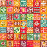 Textura tribal sem emenda Imagem de Stock Royalty Free