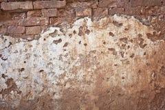 Textura velha áspera do grunge da parede de tijolo imagens de stock royalty free