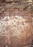 Textura velha áspera do grunge da parede de tijolo foto de stock royalty free