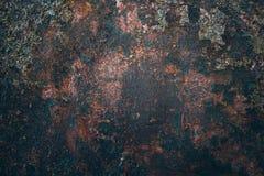Textura velha da oxidação do ferro do metal Imagem de Stock