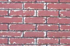 Textura velha da parede da rocha do tijolo vermelho Imagem de Stock Royalty Free