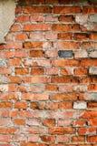 Textura velha da parede de tijolo fotos de stock royalty free
