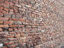 Textura velha da parede de tijolo Imagem de Stock