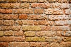 Textura velha da parede de tijolo Imagens de Stock