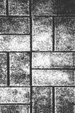 Textura velha da parede de tijolo da aflição fotos de stock