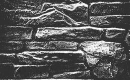 Textura velha da parede de tijolo da aflição fotografia de stock