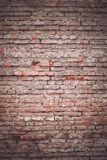 Textura velha da parede de tijolo do fundo Fotografia de Stock
