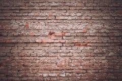Textura velha da parede de tijolo do fundo Fotos de Stock