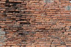 Textura velha da parede de tijolo do grunge Imagens de Stock Royalty Free
