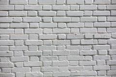 Textura velha da parede de tijolo do vintage Fundo horizontal branco vermelho de Stonewall do Grunge Fachada gasto da constru??o  fotos de stock