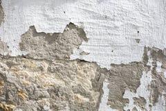 Textura velha da parede de tijolo do vintage Fundo horizontal branco vermelho de Stonewall do Grunge Fachada gasto da constru??o  fotografia de stock