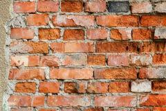 Textura velha da parede de tijolo foto de stock royalty free