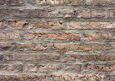 Textura velha da parede de tijolo vermelho Fotografia de Stock Royalty Free