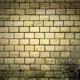 Textura velha da parede de tijolos de Grunge Foto de Stock Royalty Free