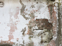 Textura velha da parede de tijolos de Grunge imagens de stock royalty free