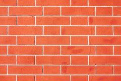 Textura velha da parede do tijolo vermelho do vintage Fotografia de Stock Royalty Free