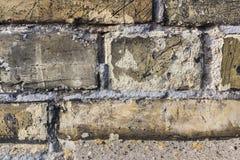Textura velha da parede do vintage do tijolo Imagens de Stock Royalty Free