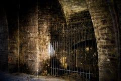 Textura velha da parede da fortaleza antiga fotografia de stock