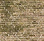 Textura velha da parede da igreja do tijolo fotografia de stock royalty free