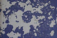 A textura velha da pintura está lascando-se fotos de stock