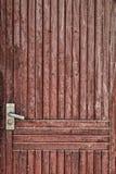 Textura velha de uma árvore, produtos de madeira da porta de uma placa. Imagens de Stock Royalty Free