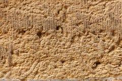 Textura velha do fundo da estrutura da parede do arenito Foto de Stock