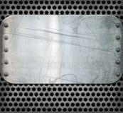Textura velha do fundo do metal Imagem de Stock Royalty Free