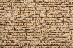 Textura velha do material do algodão Fotos de Stock Royalty Free