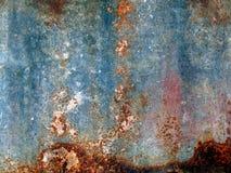 Textura velha do metal da oxidação Imagens de Stock