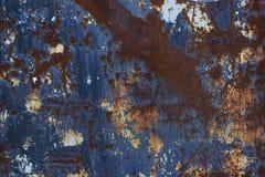 Textura velha do metal foto de stock