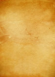 Textura velha do papel de pergaminho Fotos de Stock Royalty Free