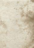 Textura velha do papel de pergaminho Foto de Stock