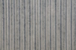 Textura velha do telhado da folha de metal do grunge Imagem de Stock