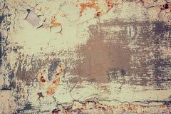 Textura velha oxidada do metal do Grunge, imagem do vintage, fundo abstrato fotos de stock royalty free