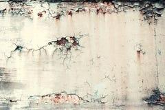Textura velha oxidada do metal do grunge do vintage, fundo abstrato imagens de stock