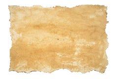 Textura velha, papel queimado Imagens de Stock Royalty Free